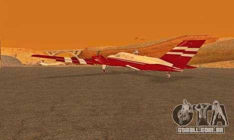 Rustler GTA V para GTA San Andreas esquerda vista