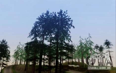 Nova vegetação 2013 para GTA San Andreas segunda tela