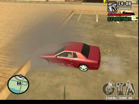 GTA V to SA: Burnout RRMS Edition para GTA San Andreas sétima tela
