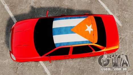 Lada Priora Cuba para GTA 4 vista direita