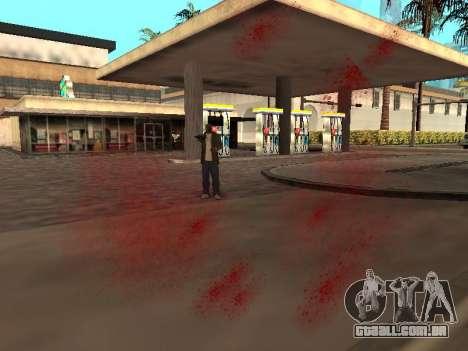 WeaponStyles para GTA San Andreas por diante tela