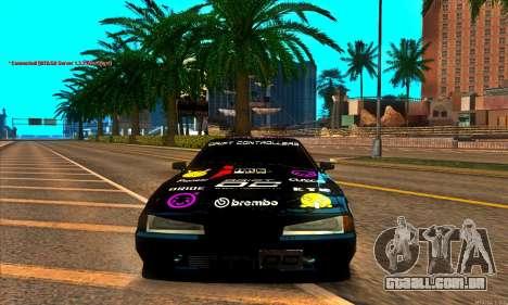 Elegy DC v1 para GTA San Andreas vista direita