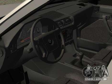 BMW 525I para GTA San Andreas vista traseira