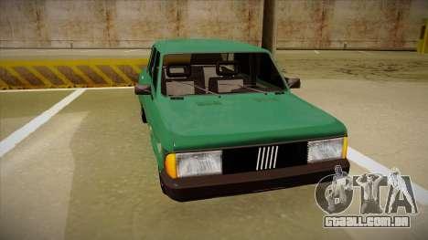 Fiat 128 Super Europa para GTA San Andreas esquerda vista