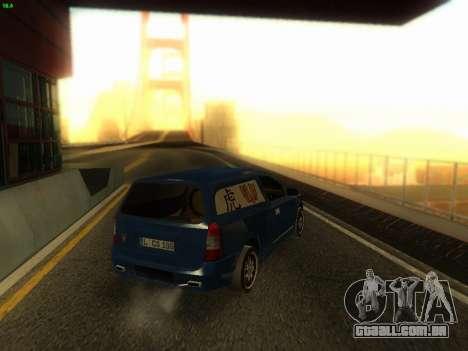 Opel Astra G Caravan Tuning para GTA San Andreas esquerda vista
