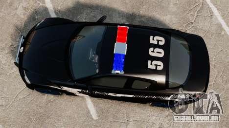 Mazda RX-8 R3 2011 Police para GTA 4 vista direita