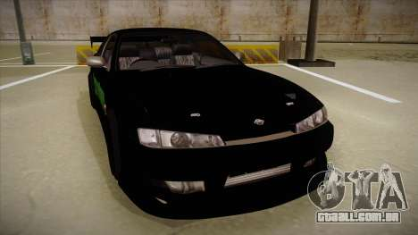 Nissan s14 200sx [WAD]HD para GTA San Andreas esquerda vista