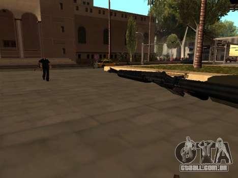 WeaponStyles para GTA San Andreas sexta tela