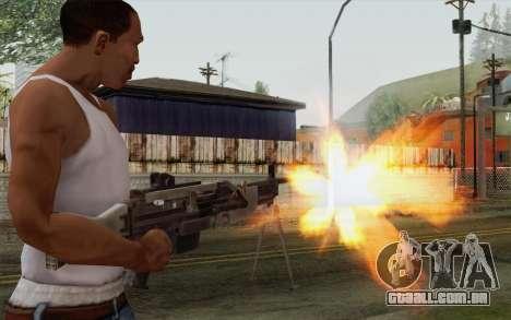 Arma militar para GTA San Andreas terceira tela