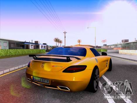 Mercedes-Benz SLS AMG GT 2014 Final Edition para GTA San Andreas vista direita