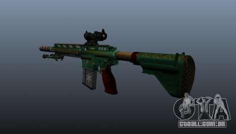 HK417 rifle v3 para GTA 4 segundo screenshot