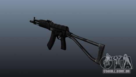 AEK-971 automático para GTA 4 segundo screenshot
