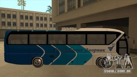 Neoplan Tourliner - Drinatrans Zvornik para GTA San Andreas traseira esquerda vista