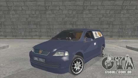 Opel Astra G Caravan Tuning para GTA San Andreas