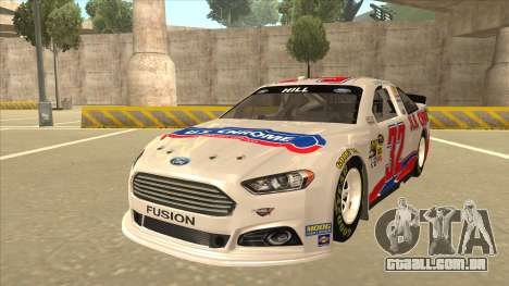 Ford Fusion NASCAR No. 32 U.S. Chrome para GTA San Andreas