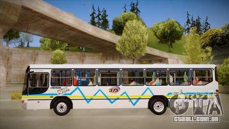 Marcopolo Viale para GTA San Andreas traseira esquerda vista