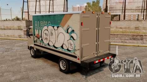 Graffiti de novo para a mula para GTA 4 vista direita
