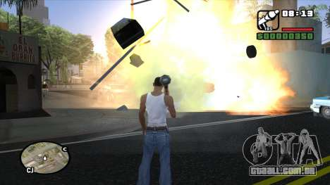 ENB para PC a partir de OlliTviks para GTA San Andreas terceira tela