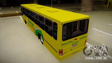 Busscar Urbanus SS Volvo B10 M garcia para GTA San Andreas vista traseira