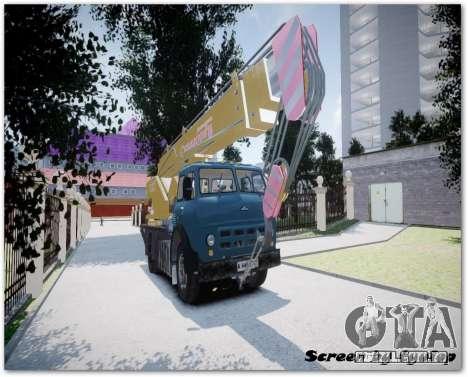 MAZ KS3577-4-2 Sinegorec para GTA 4