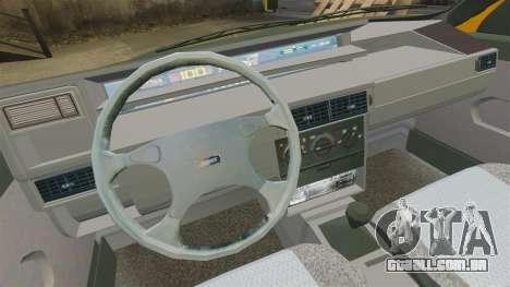 Fiat Tempra TR KeremAkca Edit para GTA 4 vista de volta