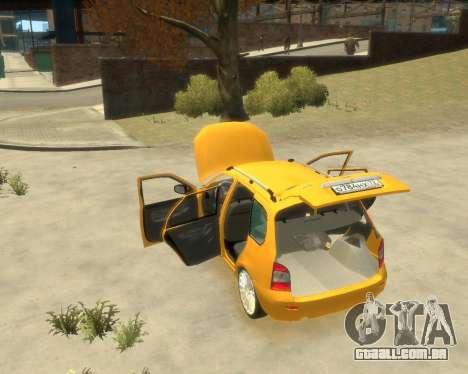 Lada Kalina Hatchback para GTA 4 vista direita