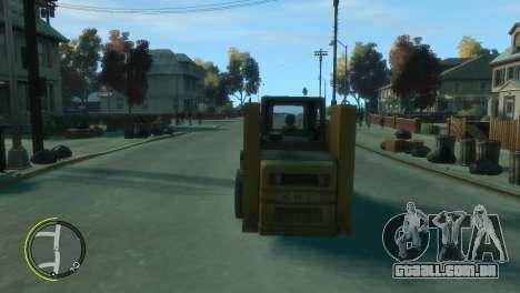 Carregador de BF3 para GTA 4 vista direita