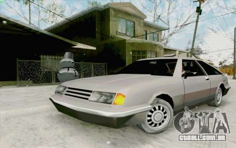 Manana Hatchback para GTA San Andreas