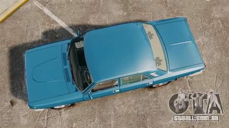 Volga GAZ-2410 v3 para GTA 4 vista direita