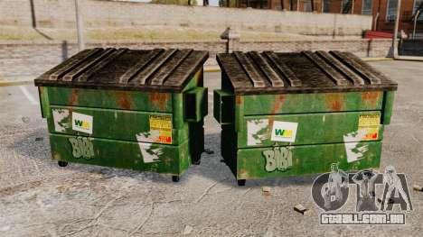Caixotes do lixo, desperdício Management Inc. para GTA 4 segundo screenshot