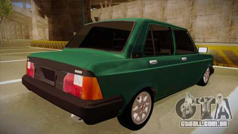 Fiat 128 Super Europa para GTA San Andreas vista direita