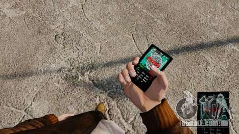 Temas para celular Vampire The Masquerade para GTA 4 sexto tela