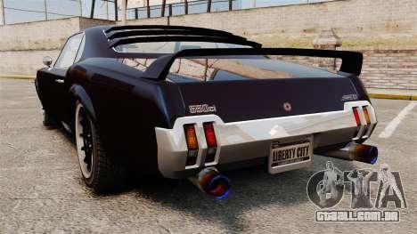 A nova versão do GT Sabre para GTA 4 esquerda vista