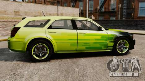 Dodge Magnum West Coast Customs para GTA 4 esquerda vista