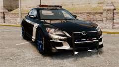 Mazda RX-8 R3 2011 Police