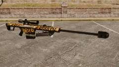 O Barrett M82 sniper rifle v9 para GTA 4