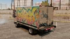 Graffiti de novo para a mula