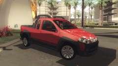 Fiat Strada Locker 2013 para GTA San Andreas