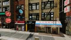 Lojas de Chinatown