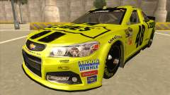 Chevrolet SS NASCAR No. 48 Lowes yellow
