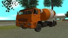 KAMAZ 6520 cimento