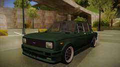 Fiat 128 Europe V Tuned para GTA San Andreas