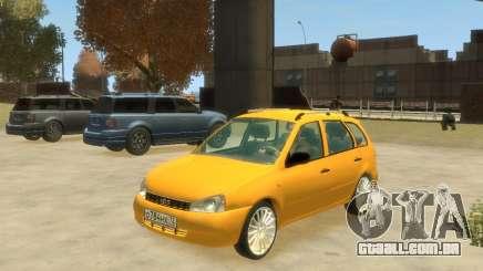 Lada Kalina Hatchback para GTA 4