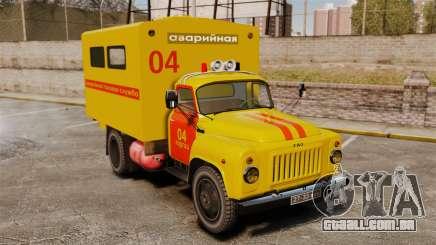 Gaz-52 emergência para GTA 4