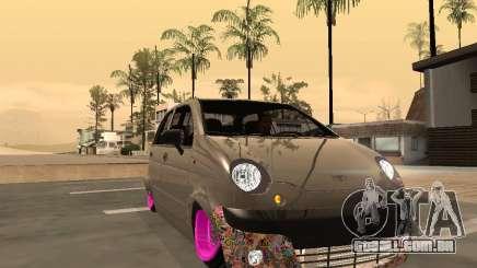 Daewoo Matiz Mexi Flush para GTA San Andreas