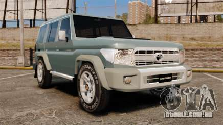 Toyota Land Cruiser 76 Wagon GXL 2010 para GTA 4
