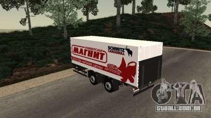 Trailer homem imã para GTA San Andreas