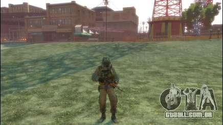 Um soldado russo v 3.0 para GTA 4