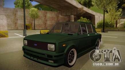 Fiat 128 Europe V Tuned para GTA San Andreas