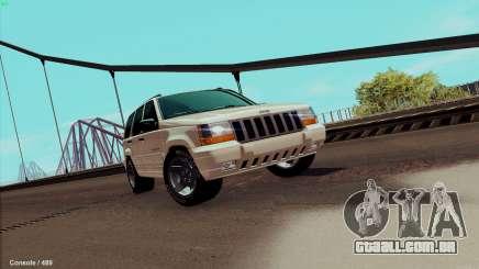 Jeep Grand Cherokee para GTA San Andreas
